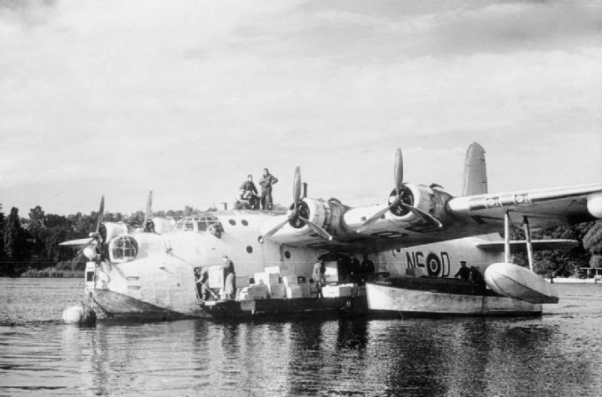 Sunderland flying boat in Berlin