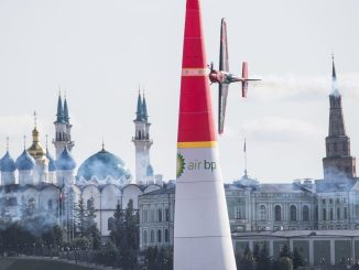 Ben Murphy in the Red Bull Air Race in Kazan (Image: Red Bull Air Race)