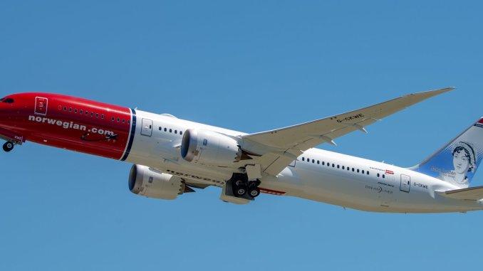 Norwegian Boeing 787 Jane Austen (Image: Atle Straume)