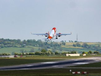 Easyjet A320 neo at Bristol Airport