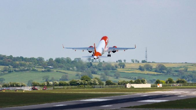 Easyjet A320 neo at Bristol Airport (Image: Aviation Media Co)