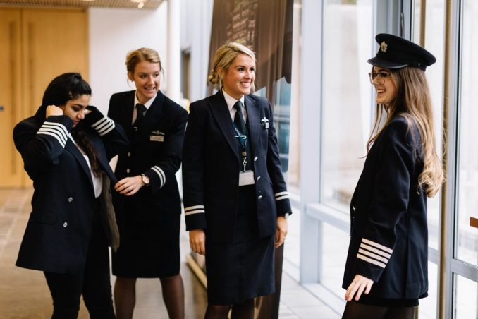 Pilots were on hand to share their experiences and answer questions (Image: BA/Stuart Bailey)
