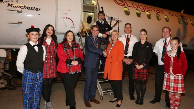 Loganair starts its Glasgow to Derry service