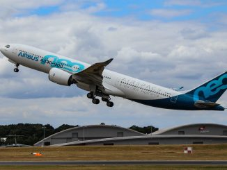 Airbus A330neo at Farnborough (Image: Aviation Media Co.)