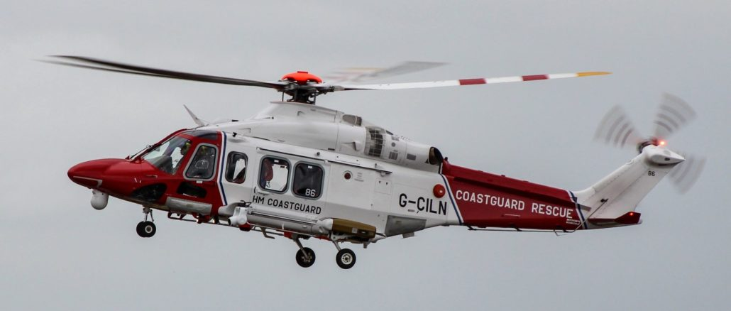 A coastguard helicopter (Image: The Aviation Media Co.)