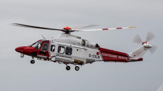 A coastguard helicopter (Image: The Aviation Media Co.)