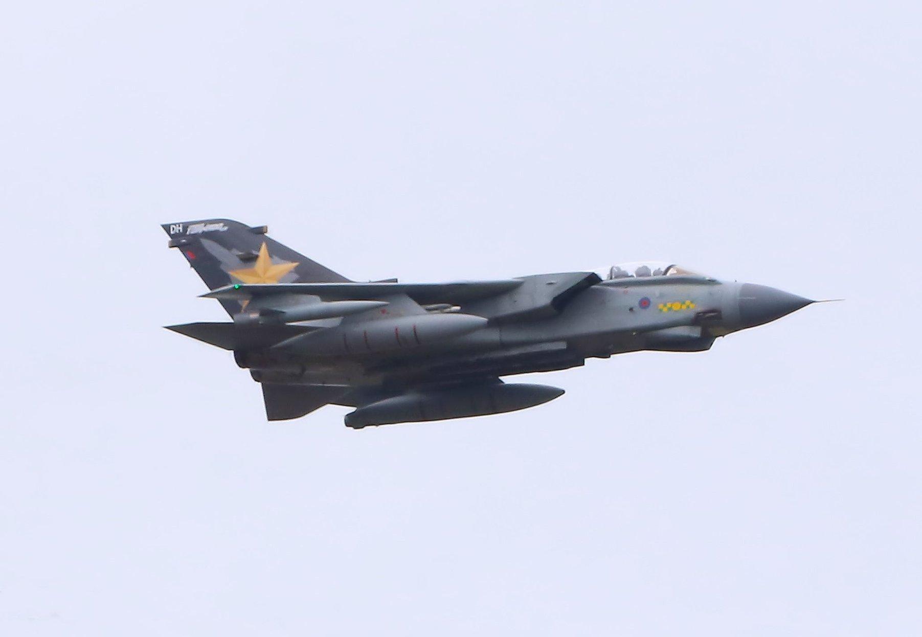 The 'Gold Star' Tornado (Image: John Edwards)