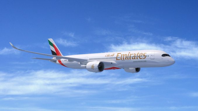 Emirates A350-900 Artists Impression (Image: Airbus)