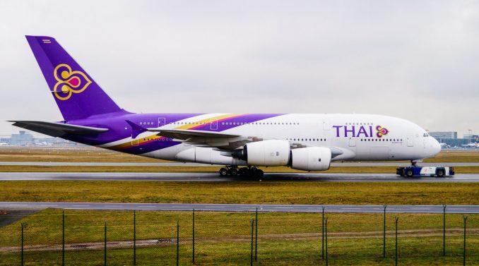 A Thai Airways A380 at Frankfurt Airport (Image: Aviation Media Co.)