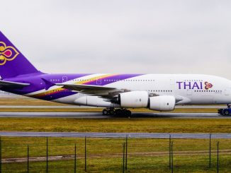 A Thai Airways A380 at Frankfurt Airport (Image: Aviation Media Co.)