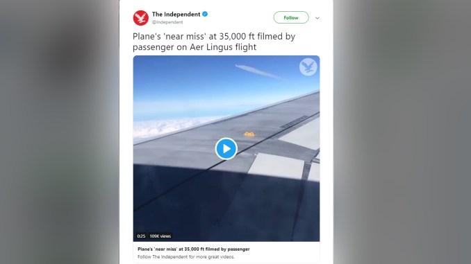Independent fake news tweet