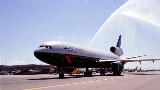 British Airways Landor Livery on a DC10