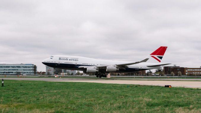 British Airways Boeing 747-400 NEGUS (Image: Stuart Bailey/British Airways)