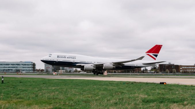 British Airways Boeing 747-400 NEGUS (Image: Stuart Bailey/British Airways)