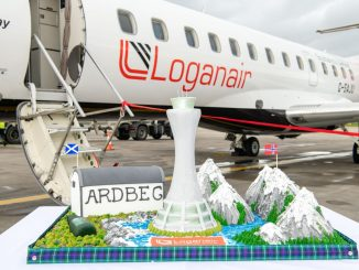 Loganair Edinburgh Norway Bergen Stavanger Launch