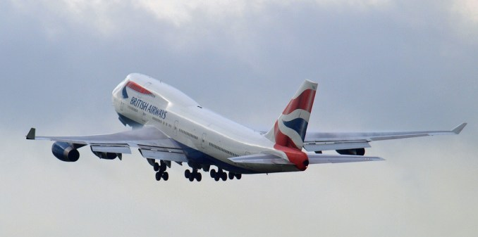 British Airways will phase out older aircraft such as the Boeing 747-400 over the next few years