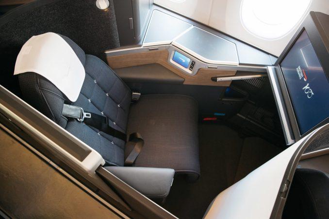 BA A350 G-XWBA Cabin