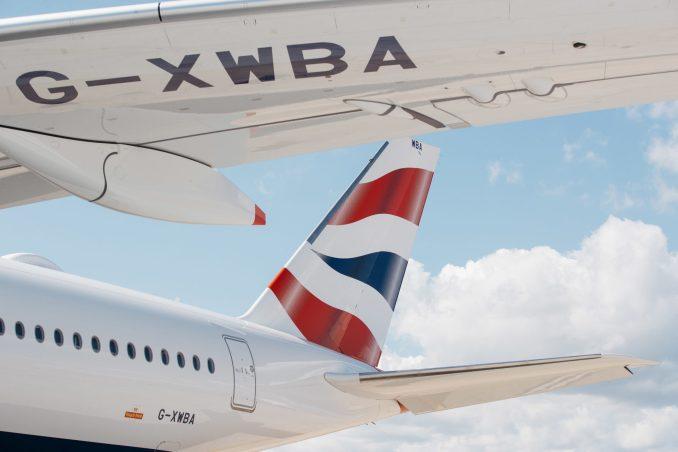 British Airways A350 at London Heathrow (Picture by Nick Morrish/British Airways)