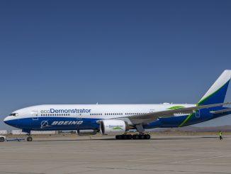 Boeing ecoDemonstrator 777