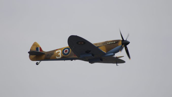A BBMF Spitfire