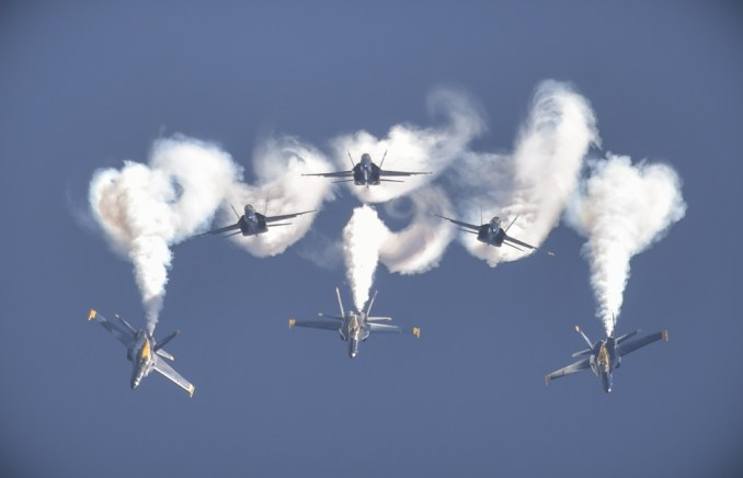 The Blue Angels (Image: DoD / The appearance of U.S. Department of Defense (DoD) visual information does not imply or constitute DoD endorsement.)