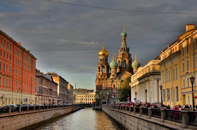 St Petersburg is becoming a popular tourist spot for British travellers