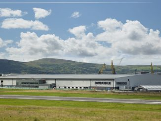 Bombardier site at Belfast City Airport