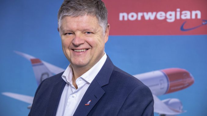 Jacob Schram appointed new CEO of Norwegian