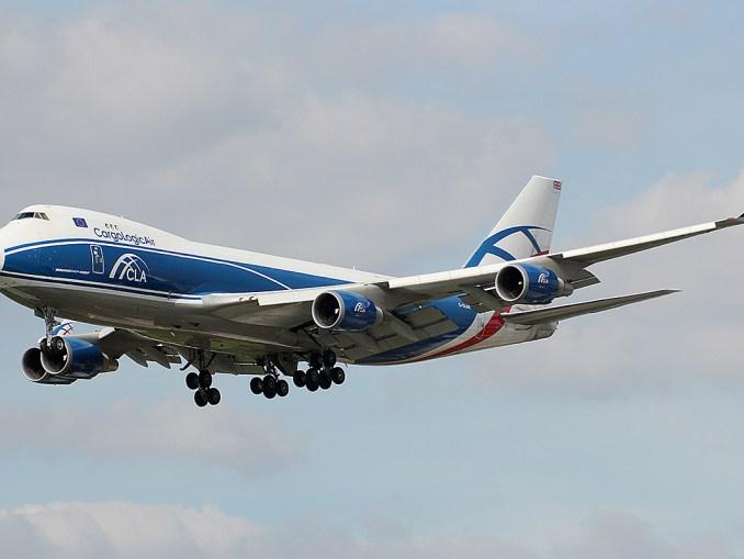 Cargologic Boeing 747-400F (Image:Mike Burdett CC BY-SA 2.0)