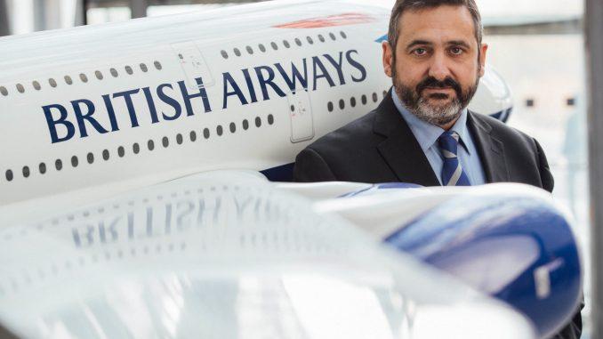 Alex Cruz, British Airways' chief executive and chairman (Image: BA)