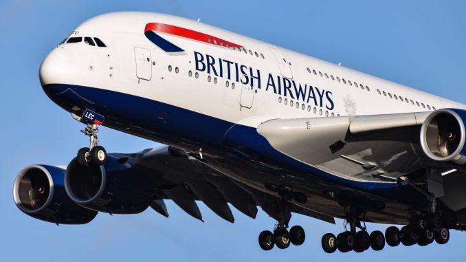 British Airways Airbus A380-800 G-XLEC (Image: TransportMedia UK)