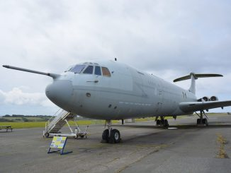 VC10 at Cornwall Aviation Heritage Centre
