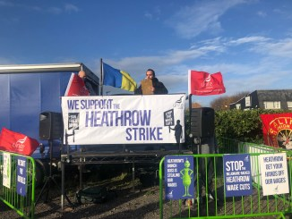 Heathrow Strike (Image: Unite/Twitter)