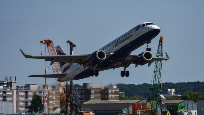 A BA Cityflyer Embraer (Image: Nick Harding/TransportMedia UK)
