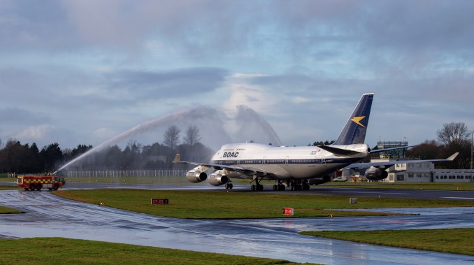 Water Cannon Salute - Mark Parsons