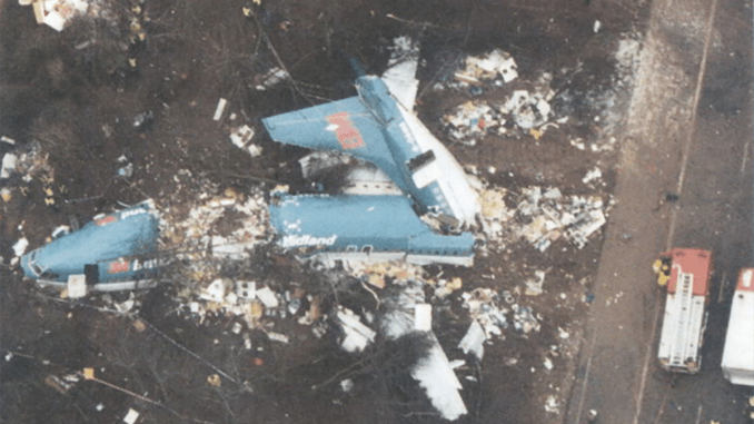 M1 Air Crash (Image: AAIB)