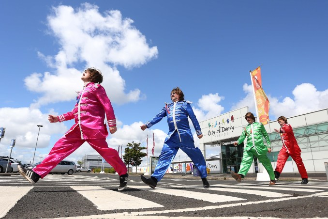 Flights between Derry and Liverpool launched this week