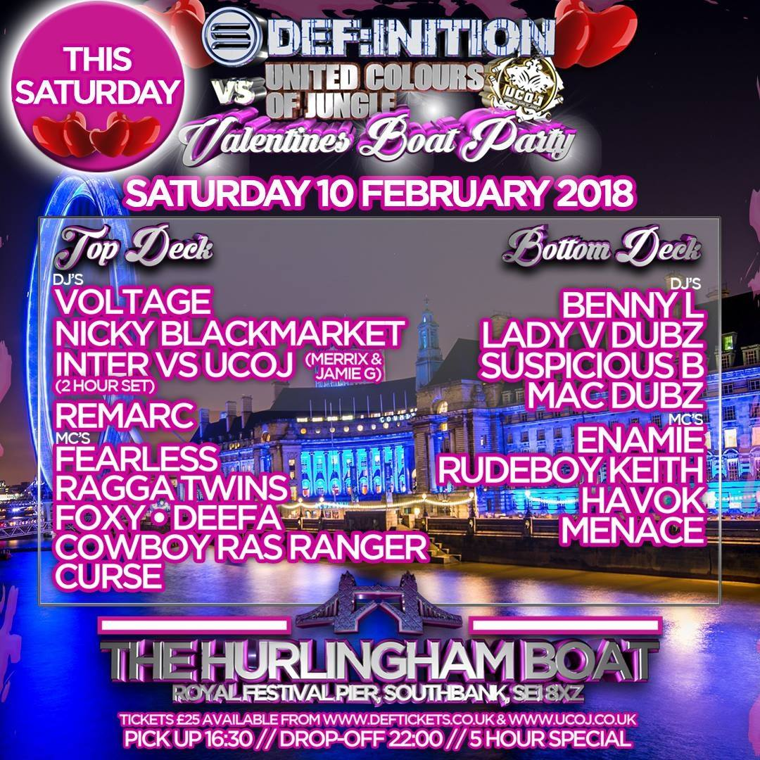 Def:inition VS UCOJ Valentines