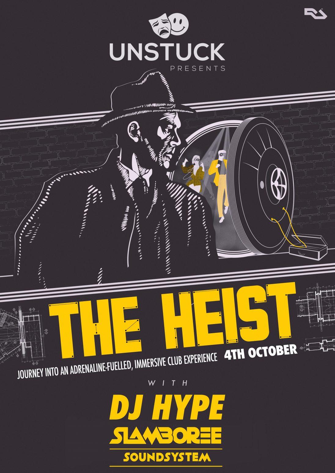 The Heist 4th Oct 2019