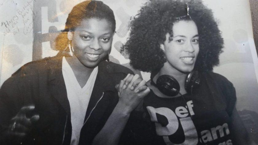 DJ Elayne and DJ Camilla