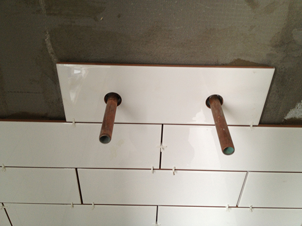 how to drill holes in tiles uk