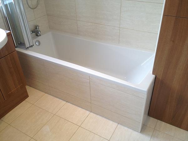 tiled bath panels