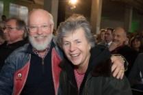Künstlerehepaar Margie Kinsky und Bill Mockridge