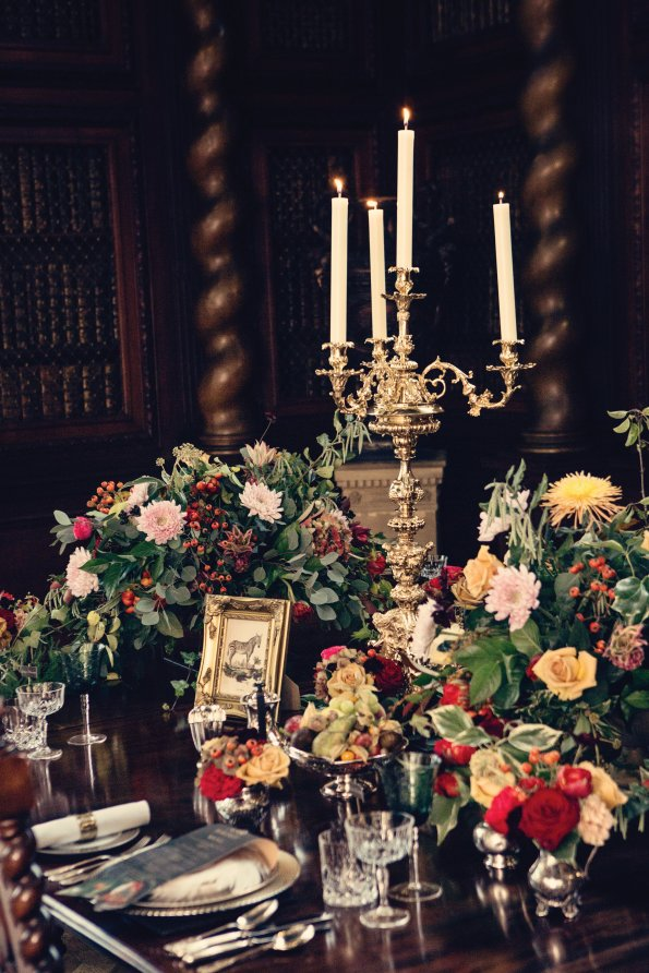 An abundance of flowers is becoming really popular at weddings at the moment.