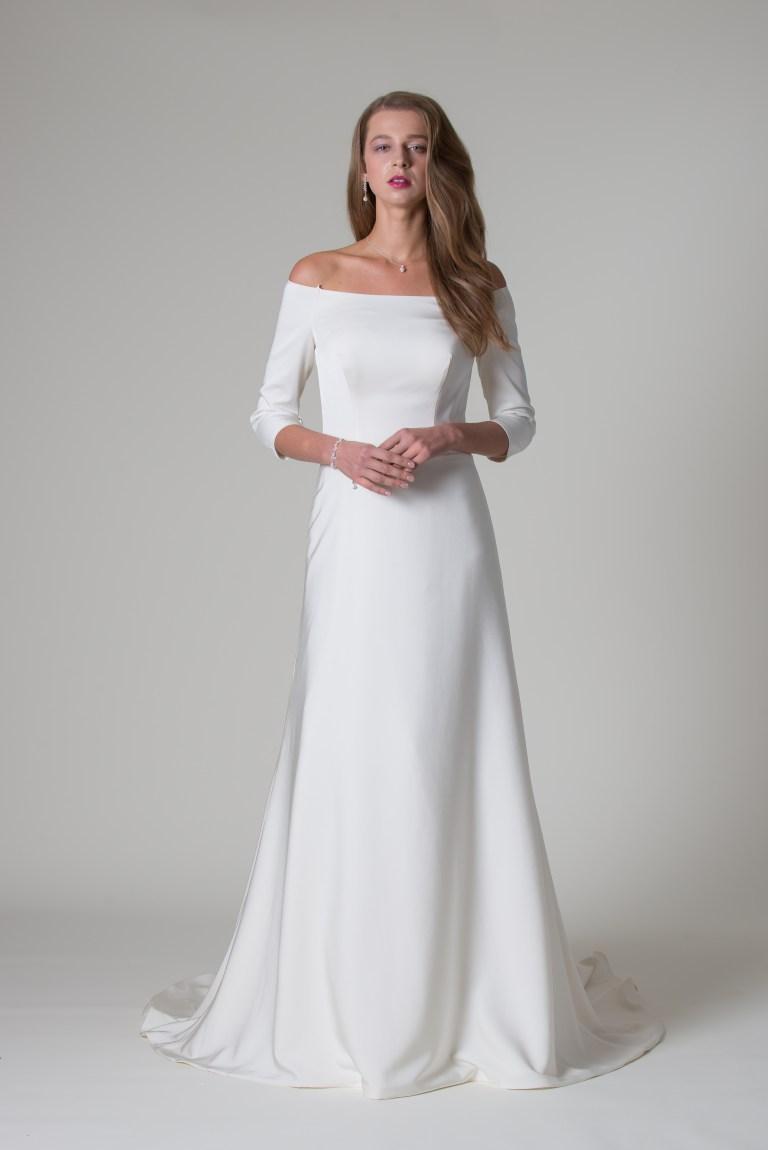 MiaMia simple Meghan Markle wedding dress trend