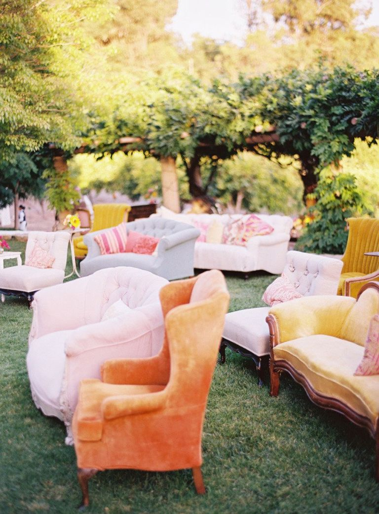Beautiful seating arrangement.