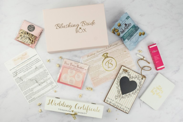 Blushing Bride Box.