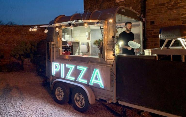 The Wedding Pizza Company.