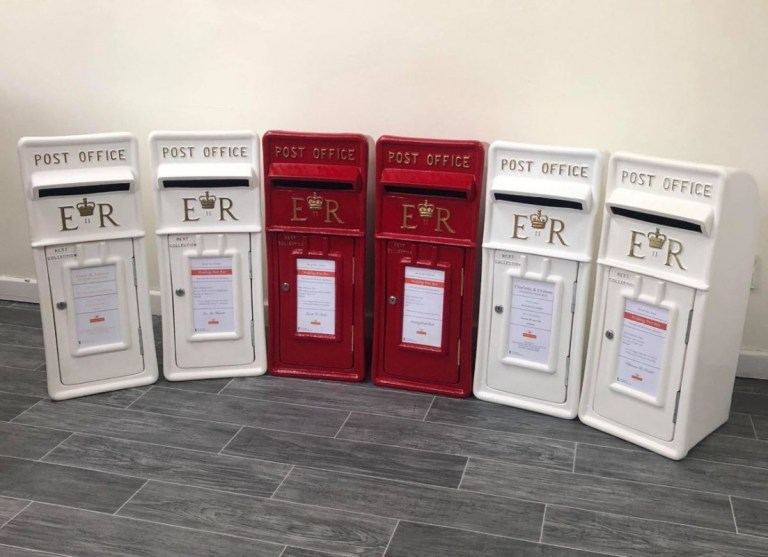 Wedding Post Box Hire.