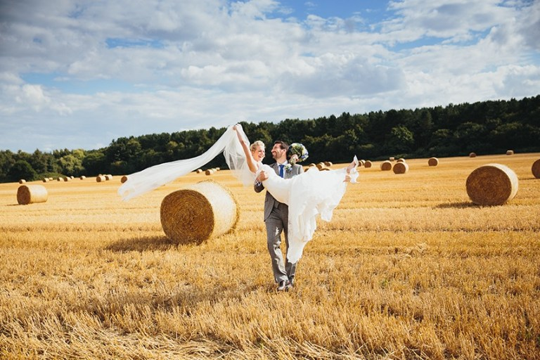 Hay bales in a field is a must have photo!